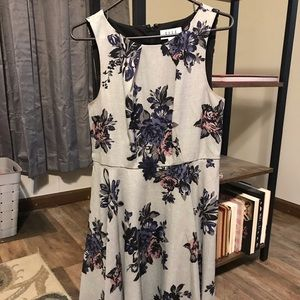 Knee Length Floral Elle Dress